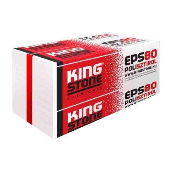 Kingstone EPS 80 homlokzati hőszigetelő lemez
