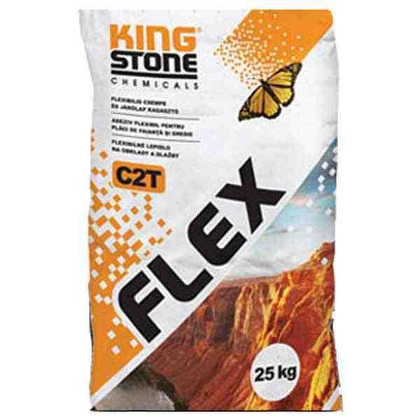 Kingstone Flex C2TE flexibilis csempe és járólap ragasztó