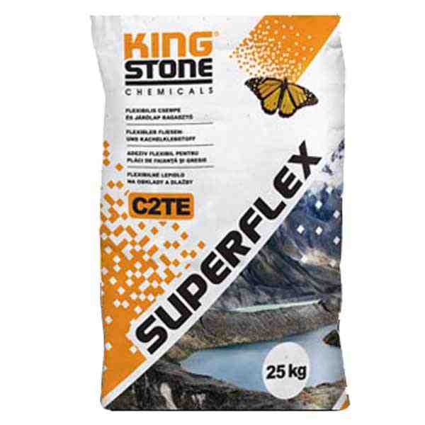 Kingstone Superflex C2TE flexibilis csempe és járólap ragasztó