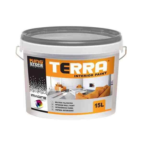 Kingstone Terra Interior Paint magas fedőképességű beltéri falfesték