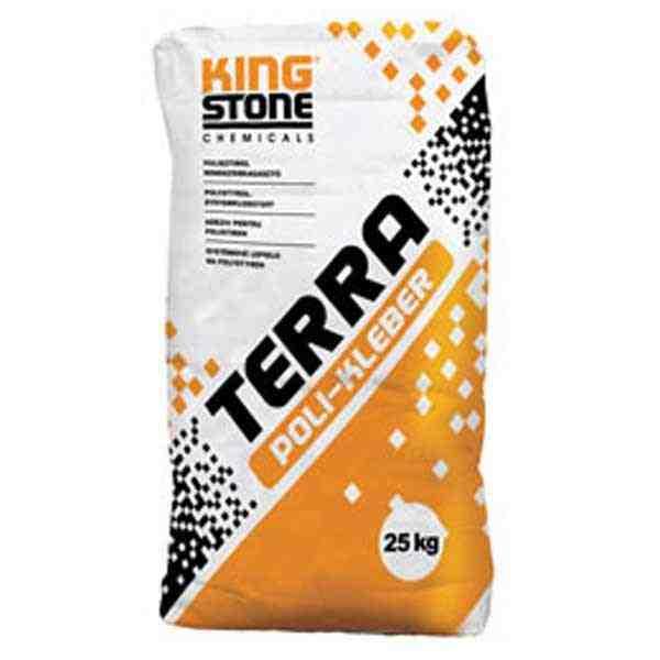 Kingstone Terra Poli-Kleber polisztirol ragasztó tapasz