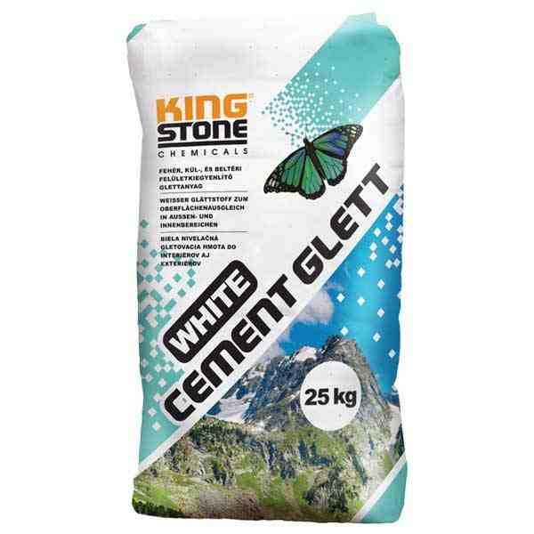 Kingstone White Cement Glett felületkiegyenlítő glettanyag