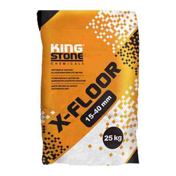 Kingstone X-Floor 15-40 mm önterülő aljzatkiegyenlítő